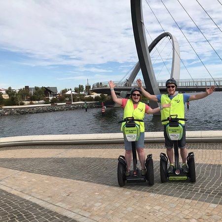 Фотография Perth City Riverside Segway Tour