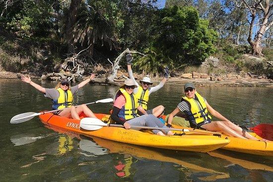 Pagayer au paradis - 4 heures de location de kayak double