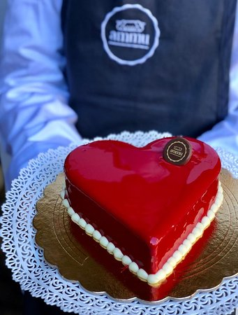 Torta semifreddo S.Valentino