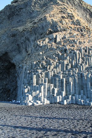 South Coast Full Day Tour by Minibus from Reykjavik: basalt columns