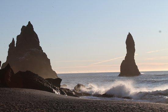 South Coast Full Day Tour by Minibus from Reykjavik: black sand beach