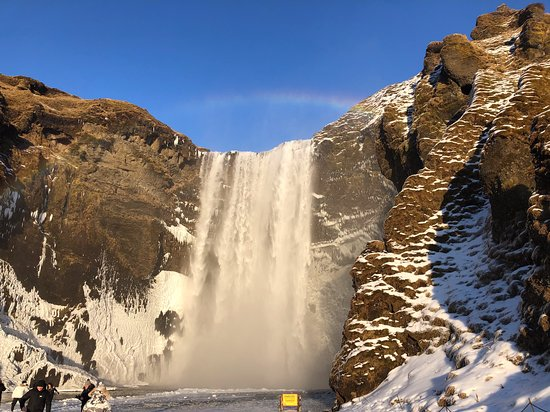 South Coast Full Day Tour by Minibus from Reykjavik: GOT waterfall