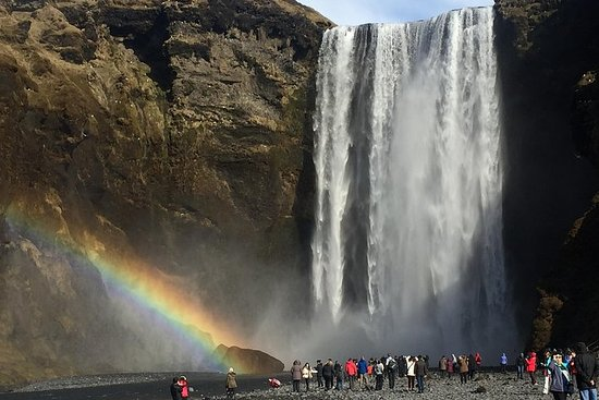 Private Magical South Coast Waterfalls, Glaciers and Black Sand Beach