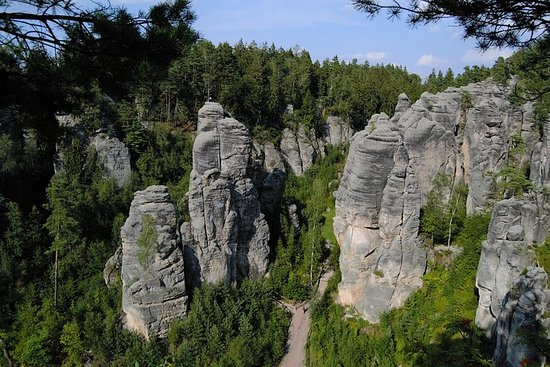The fairytale Bohemian Paradise UNESCO Geopark: Small group tour from...