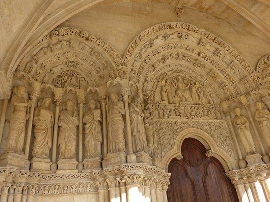 Bordeaux, Basilique Saint-Seurin, portal