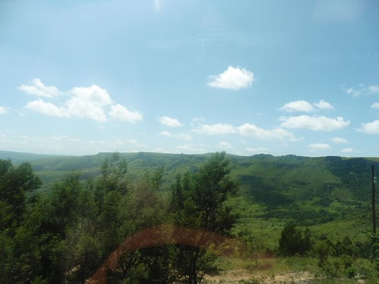 Louwsburg, Afrique du Sud: paysage