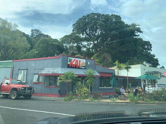 Kohukohu, Новая Зеландия: The steak burgers were so good, we went again the next night! Here's a pic