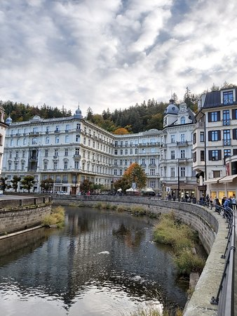 Grand hotel Pupp in Karlovy Vary. The city has been used as the location for a number of film-shoots, including the 2006 films Last Holiday and box-office hit Casino Royale, both of which used the city's Grandhotel Pupp in different guises. Moreover, the Palace Bristol Hotel in Karlovy Vary had been used as a model for The Grand Budapest Hotel movie.