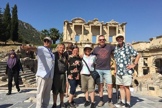Ephesus Tours Port Kusadasi lunch guide bus shopping Caravanserai artemis Resmi