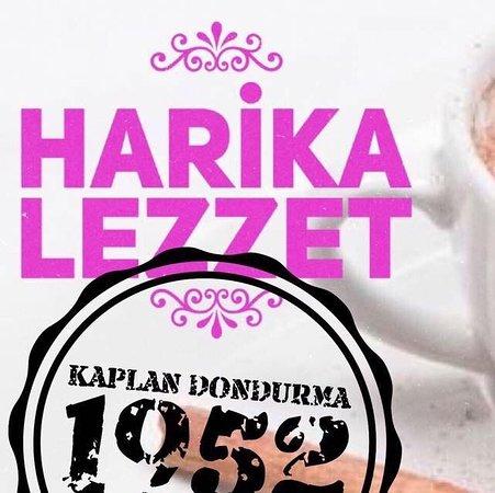 Serik District, Turcja: Kaplan dondurma