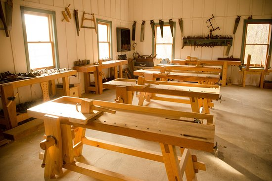 Wood and Shop Traditional Woodworking School