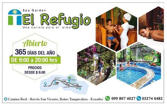 El Refugio Spa Garden
