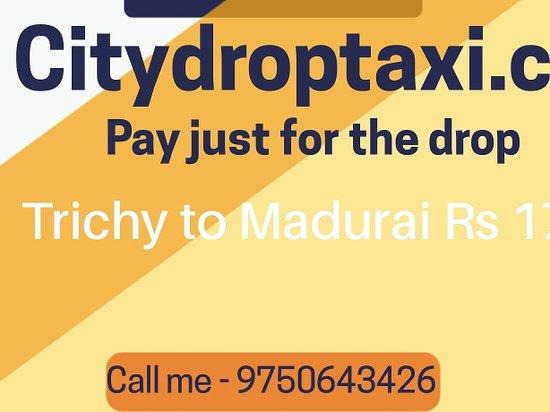 Pudukkottai District, India: One way drop taxi