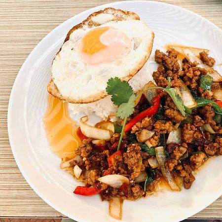 Yummy Thai food. Original mum's cooking.