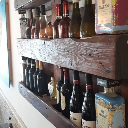 Typical Italian wines imported from Italy. Local typical Spanish wines.