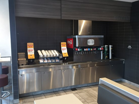 Order Counter And Wall Menu Boards Picture Of Mcdonald S Madison Tripadvisor