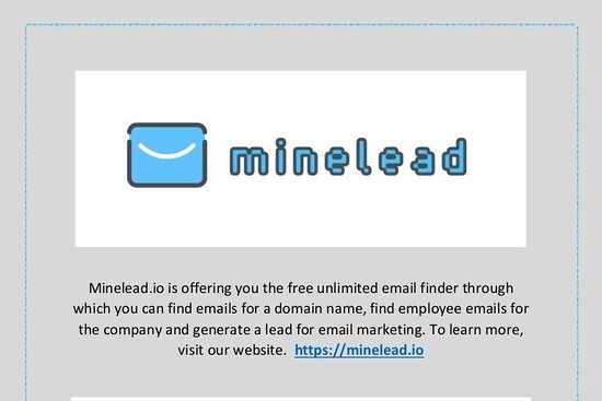 Minelead.io