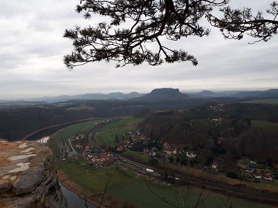 Bastei, เยอรมนี: Очень красиво место. Даже зимой!!