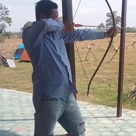 Prasat Bakong, Cambodia: Archery