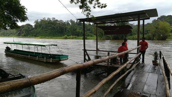 Boca Sabalos, Nikaragua: Jetty area