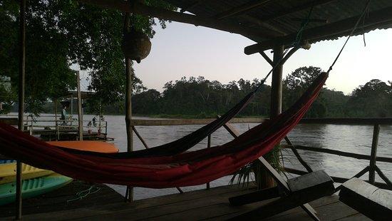 Boca Sabalos, Nikaragua: Chill-out area