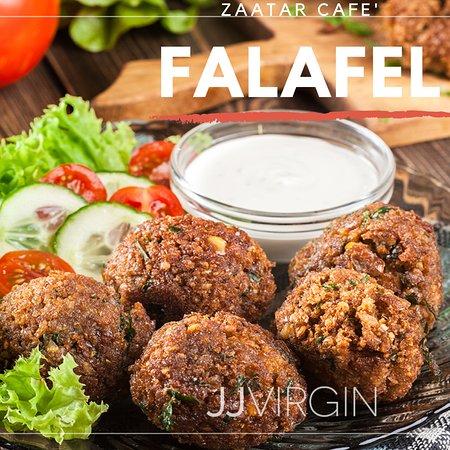 Deep fried Falafel with Saj bread and Tahini Sauce