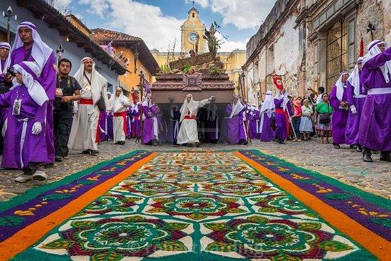 Semana Santa Tour de un día en Antigua...