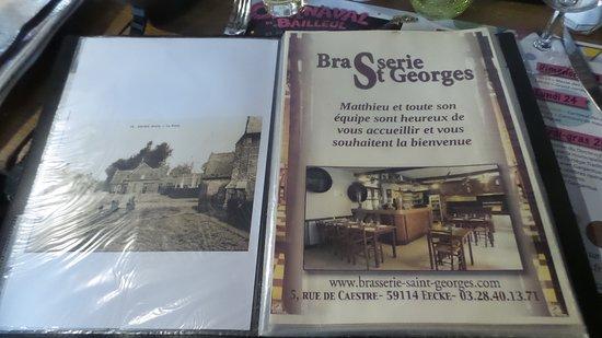 Eecke, Francúzsko: La carte