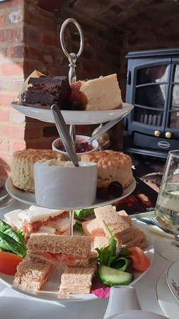 Scones, cakes and little sandwiches!