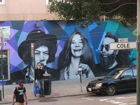 America's Rock Stars Mural