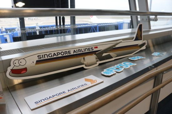 Singapore Airlines: 撮影スポット