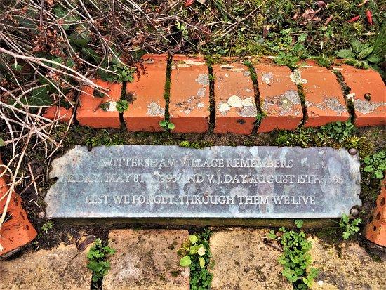 14.  Wittersham War Memorial, Wittersham, Kent
