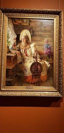 Нижегородский государственный художественный музей. Экспозиции во дворце военного губернатора (Кремль, корпус 3). 5 января 2020 года