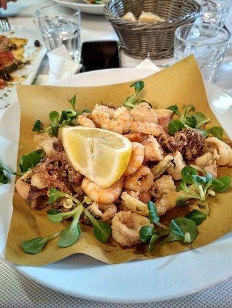 Ottimo pranzo di pesce