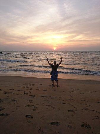 Sunset Negombo beach