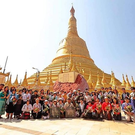 #TravelMyanmar  on 4-7 Feb,2020 to Visit to #Bago  #GoldenRock #Syriem #Yangon# by #NayLinn#  They are a group of  48 person. They  are from Thailand. They are so happy with our service.  They always use our tour service in Myanmar. We know each other for almost 8 years. Have a good time brother and sister. See you again  #NayLinnNaingTravelsAndToursCoLtd Email: humans.man@gmail.com Line ID: naylinn555 Ph: +95-95050349 WhatsApp  You can travel to these-- #YangonTour #TravelMyanmar #Syriem #Bago