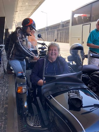 3-Hour Madeira Scenic Island Tour (Price per Sidecar - 1 or 2 passengers): All set to go on Madiera, just packing up my walker.