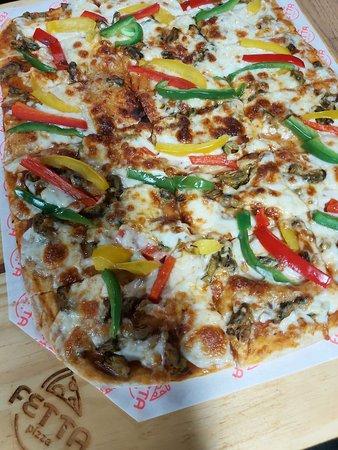 Pizza Sururu das Alagoas! Exótica... diferente... exclusiva e DELICIOSA.