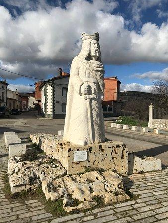 Provincia de Valladolid, España: Estatua de Wamba.