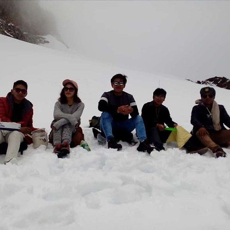Milluni, Bolivia: Un día espléndido en Charquini gracias a nuestros clientes por la confianza