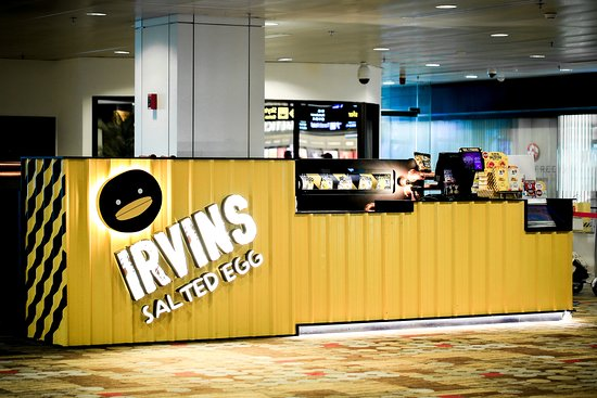 IRVINS Salted Egg (Changi Airport T1)