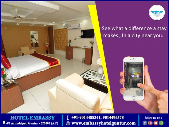 Guntur District, Индия: If you are looking for best hotels in guntur, family hotels in guntur, business hotels in  guntur, embassy hotel guntur is the best option for you. If you are looking for birthday party celebrations, small business meetings etc you can have at this hotel.