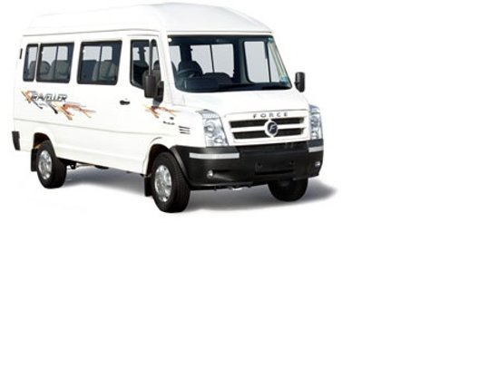 Hire Tempo Traveller for rent in Bhubaneswar at bbsrtaxi. Transparent Billing, Courteous Drivers and On-time Service. Book 12 seater Tempo traveller on rent in Bhubaneswar and enjoy the ride with bbsrtaxi. Call us at +91 943 779 9798.