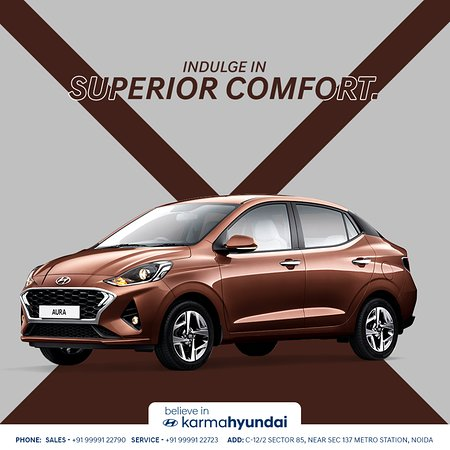 Discover an exceptional level of comfort with the all new #HyundaiAura. Click to book a test drive with North India's Best New Hyundai Dealership => http://bit.ly/hyundai-test-drive