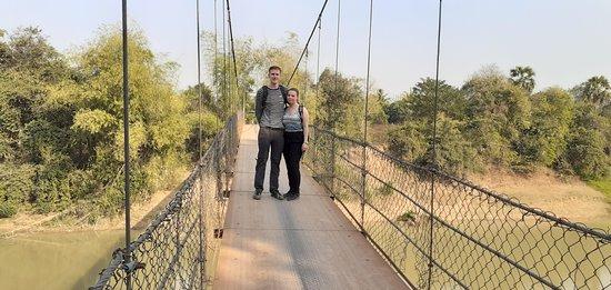 Battambang suspension bridge