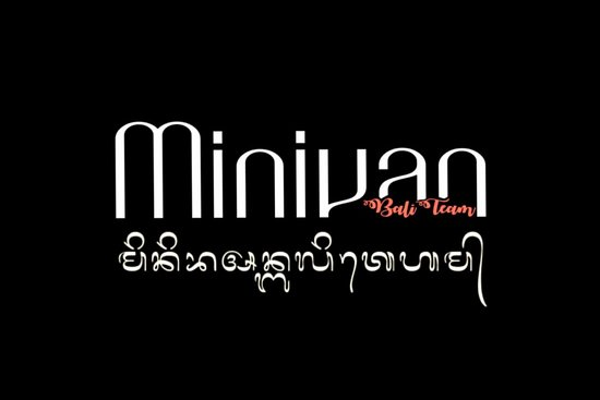 Minivan Bali Team