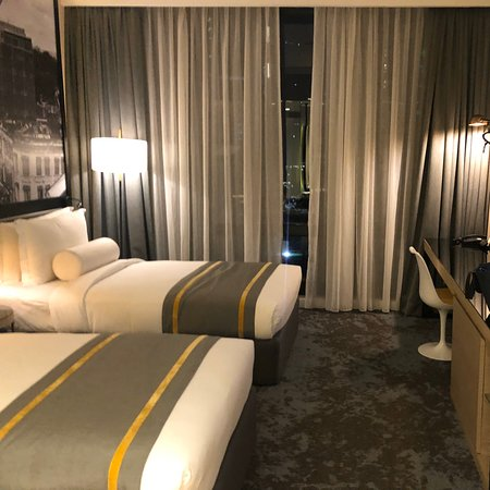 Hotel is located at the heart of Kuala Lumpur, near Twin Tower. Room are clean and decor is stylish. However the basin and washing area is inside room and quite near the bed. Not a good experience for taking a bath or going to toilet.