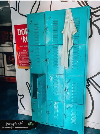 other  small lockers in dorm