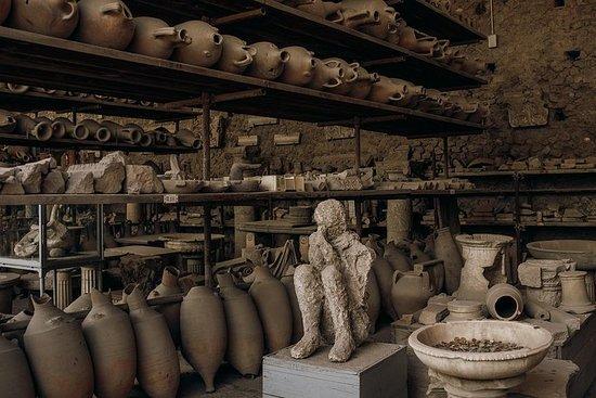 Small-Group Pompeii with Amalfi Coast...
