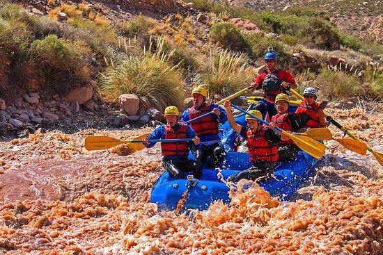 Excursão de Rafting no Rio Mendoza